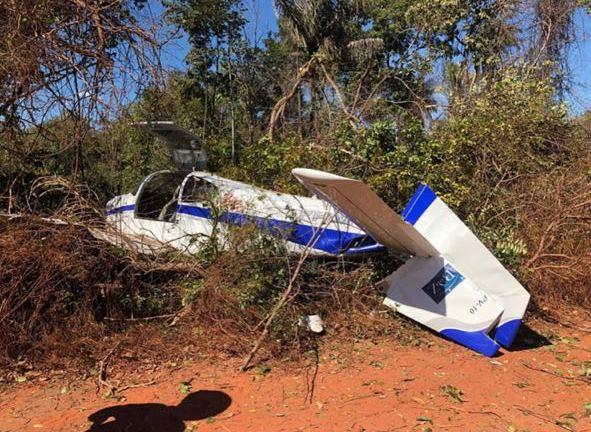 Avião com o ex-governador Wilson Martins faz pouso forçado, próximo a Teresina