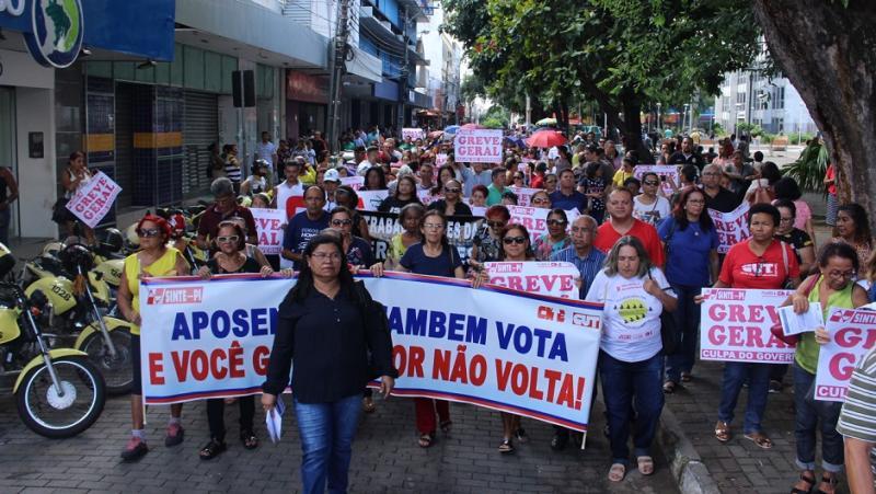 Com quase 60 dias em greve, ano letivo das escolas públicas pode ser anulado no PI
