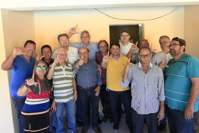 Luciano conquista em Amarante apoio de lideranças do PDT, MDB, REDE e PP