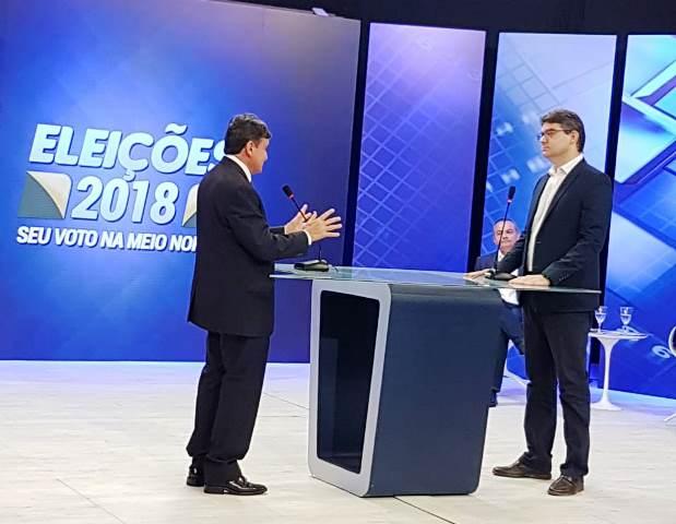Luciano destaca propostas em 1º debate para candidatos ao Governo do Estado