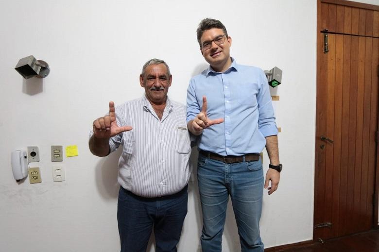 Prefeito de Buriti dos Montes declara apoio à Luciano Nunes