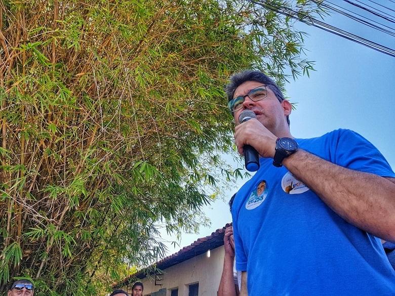 Campo Largo recebeu Luciano Nunes com uma grande caminhada e carreata