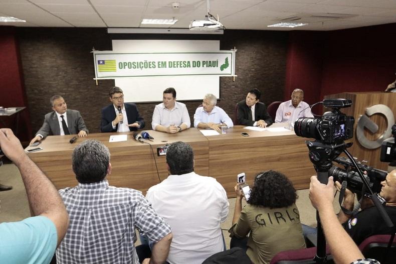 Candidatos de oposição assinam manifesto em defesa do Piauí e encaminham ao MP