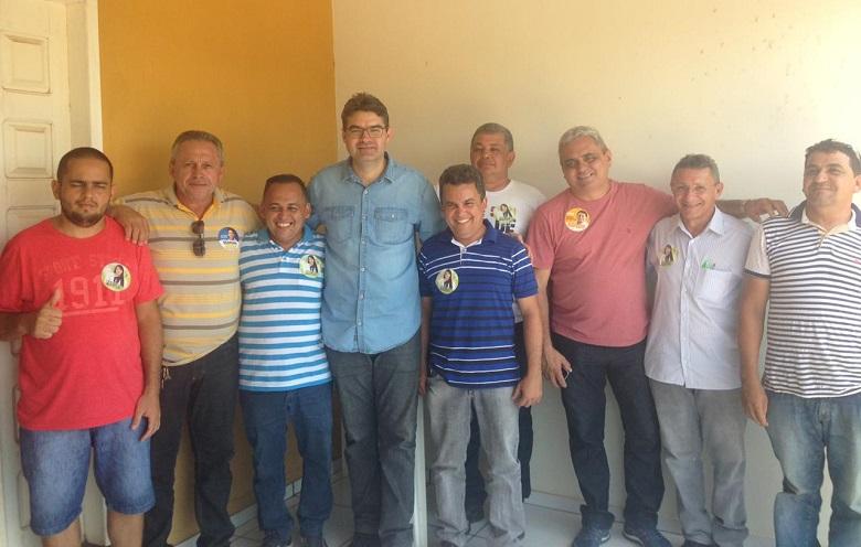 Luciano recebe adesão do PV de José de Freitas