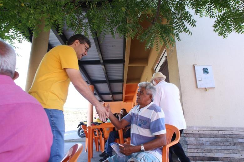 Luciano afirma em caminhada que está trabalhando pela libertação do Piauí