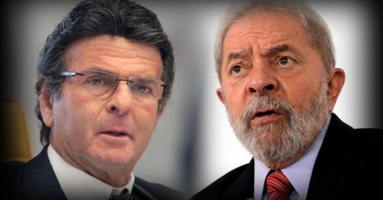 Ministro Luiz Fux barra entrevista de Lula a Folha de São Paulo