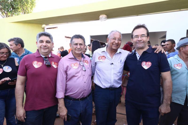 Dr. Pessoa recebe apoio de prefeito do PT e de lideranças em municípios da região centro-norte do Piauí