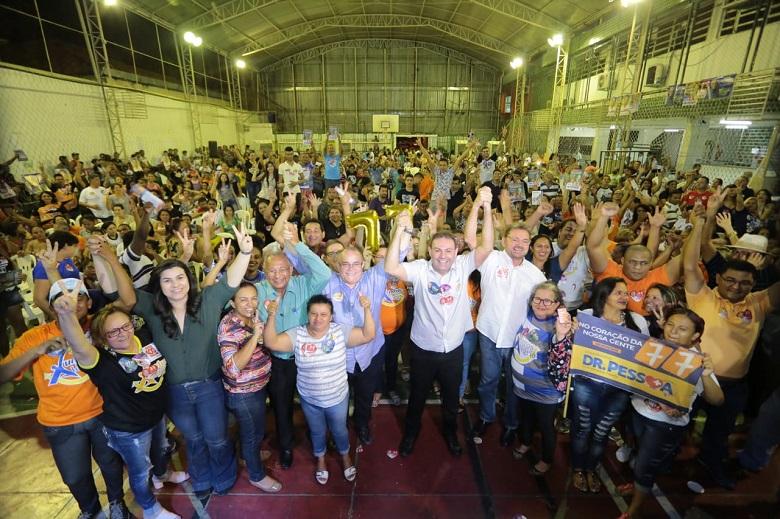 Aliados destacam crescimento de Dr. Pessoa e creem que sua votação será bem maior do que indicam pesquisas
