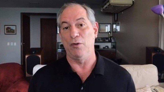 Em vídeo, Ciro avisa que não vai declarar apoio neste segundo turno