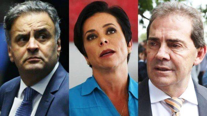Aécio Neves, Paulinho da Força, Cristiane Brasil e outros parlamentares foram alvos da PF