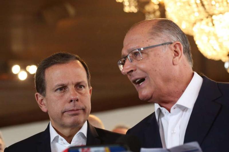 Doria e Alckmin almoçam juntos nesta quarta-feira,9