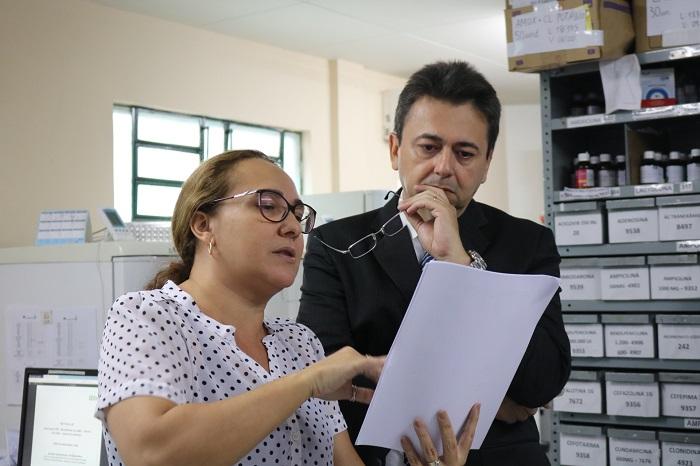 Ministério Público faz inspeção no Hospital Infantil Lucídio Portela