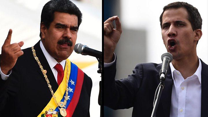 VENEZUELA:80% das Forças Armadas do país rejeitam Nicolás Maduro