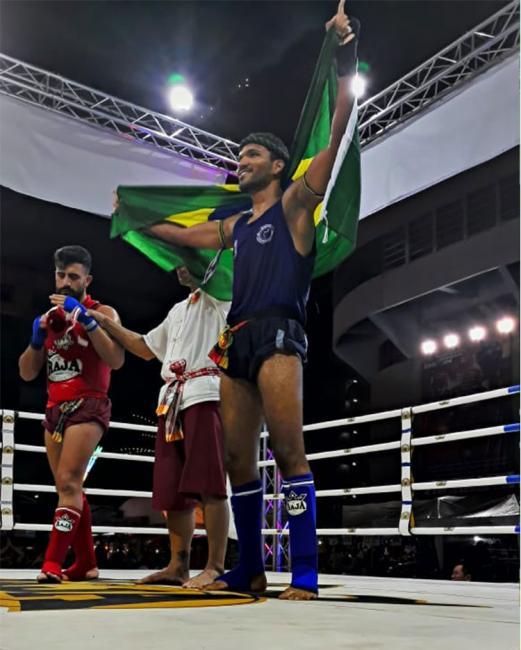 Atleta são-joanense  vence 1ª luta na Tailândia e pede ajuda financeira