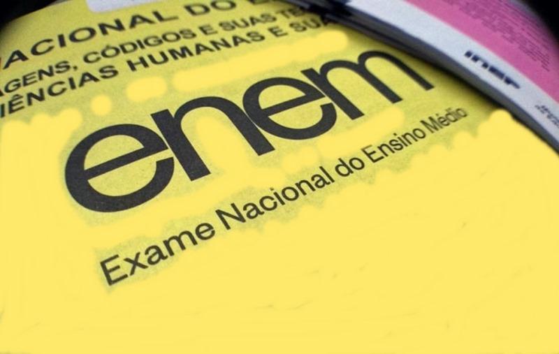 Pedido de isenção da inscrição do Enem começa nesta segunda-feira,1º de abril