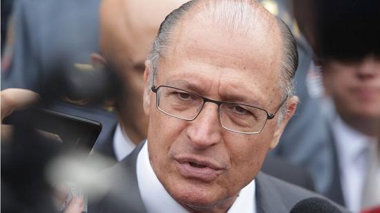 Alckmin: vemos no Brasil um clima de ódio, é o PT de ponta-cabeça, é o PT ao inverso