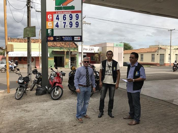 Ministério Público fiscaliza postos de gasolina no Piauí