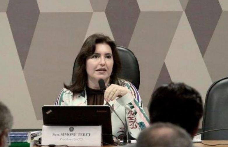 Simone Tebet chama de coincidência abuso de autoridade ser pautado após caso Moro