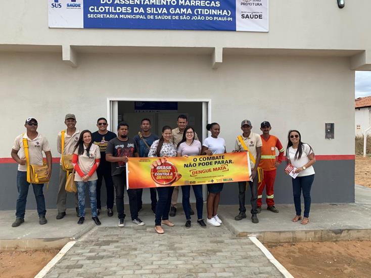 Prefeitura de São João do Piauí realiza mutirão de combate ao mosquito Aedes aegypti