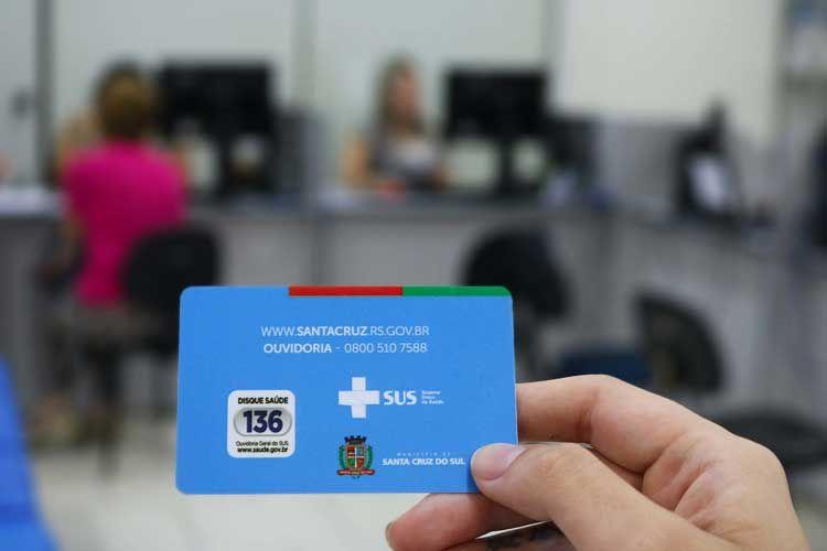 Secretaria de Saúde do Município realizará mutirão para renovação do cartão do SUS