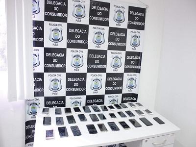 DECCOTERC restitui celulares e lança Delegacia do Consumidor