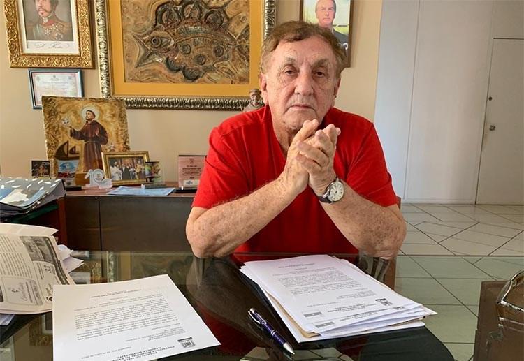'Oposição não existe; Wellington Dias é dono de tudo', diz Mão Santa