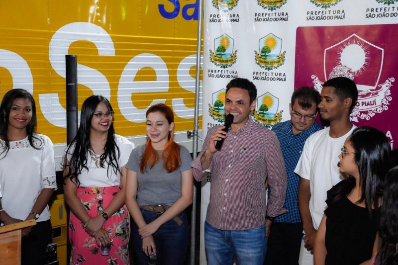 Campanha 'Todos por Um Sorriso' é lançada em São João do Piauí