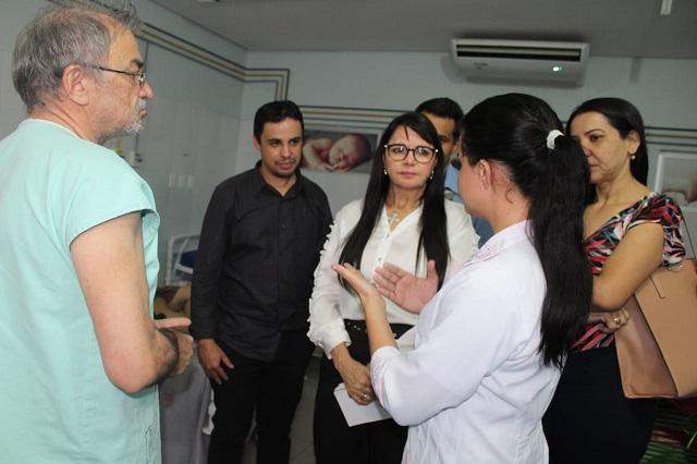 Comissão de Saúde vistoria hospitais; em São João do Piauí a maternidade está muito precária