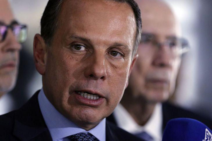 'Nunca precisei mamar em teta nenhuma', diz Doria a jornal após ataques de Bolsonaro