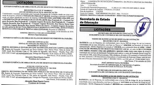 Medida provisória desobriga publicação de licitações de órgãos públicos em jornais
