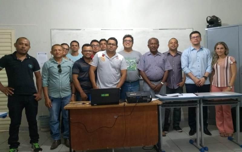 Professores do PRONATEC da 12ª GRE se reuniram para tratar do início do período letivo