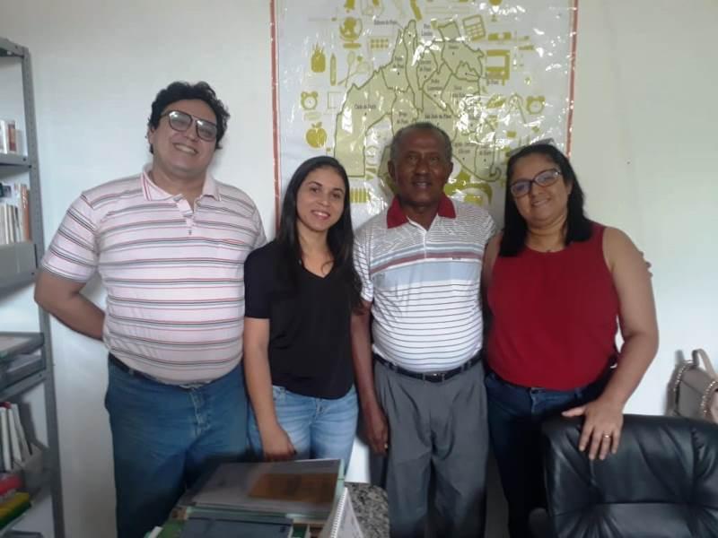 Supervisora do 'Eixo Saúde' do PRONATEC faz visita a 12ª GRE