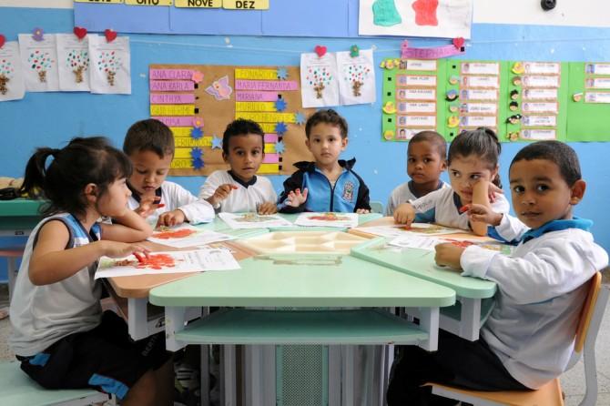 Censo Escolar: cresce número de matrículas na creche e na pré-escola