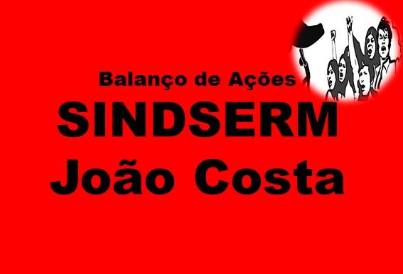 Sindserm de João Costa divulga ações em defesa de seus associados