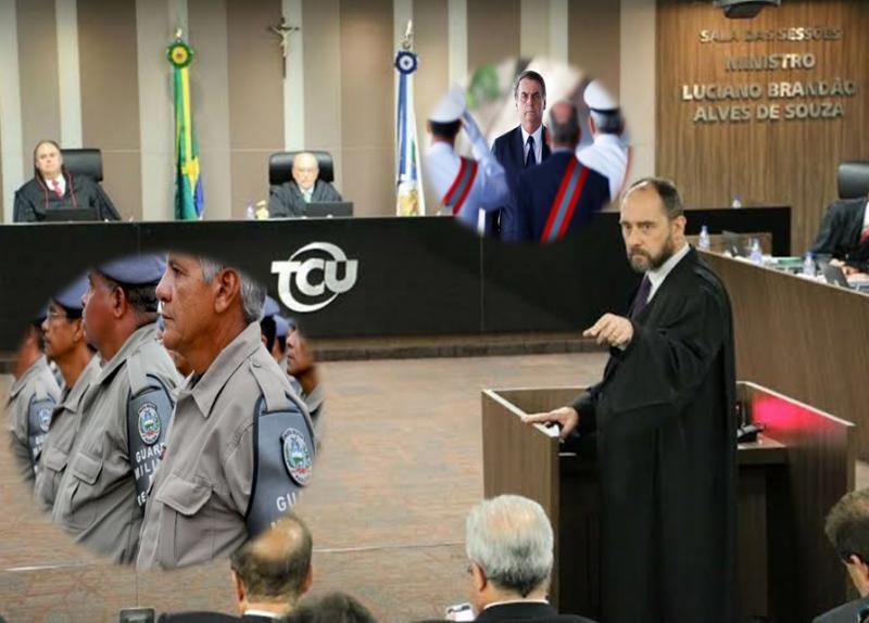 TCU recebe solicitação para suspender contratação de militares da reserva para o INSS