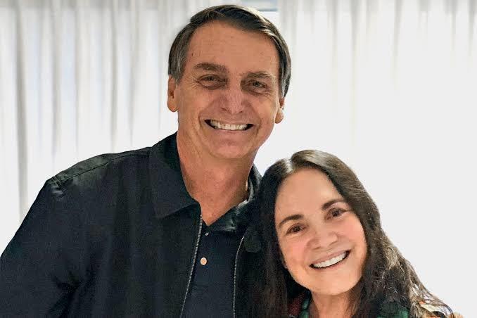 Jair Bolsonaro: fiquei noivo da Regina Duarte; fiquei noivo