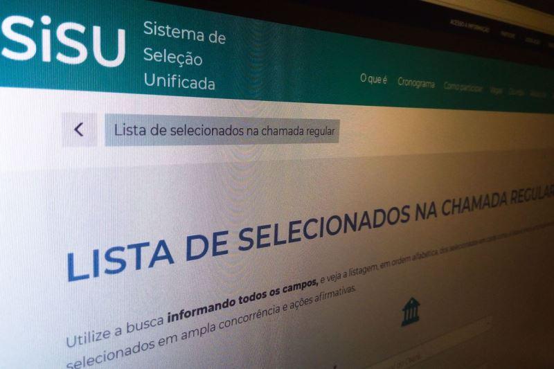Ministério da Educação libera acesso ao resultado do Sisu
