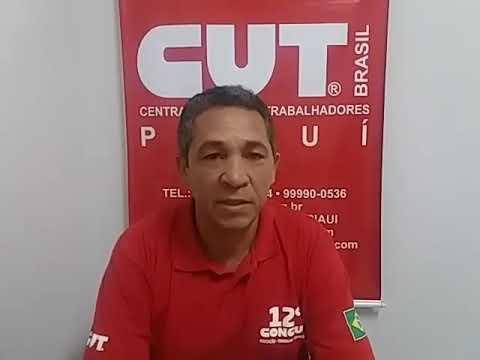 CUT-PI apoia greve dos trabalhadores em educação e repudia governador Wellington Dias