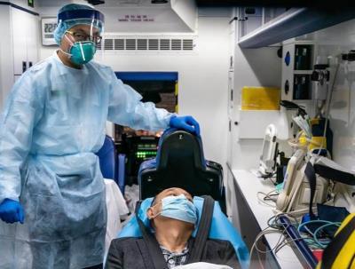 Coreia do Sul tem salto de infecções por coronavírus e SAMSUNG fecha fábrica até 2ª feira