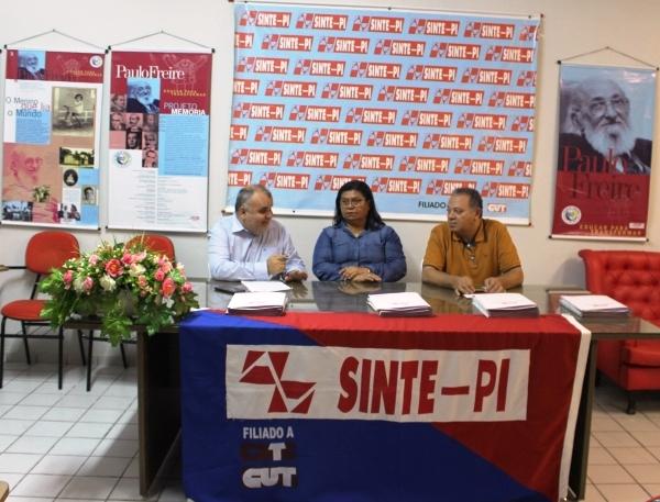 Em Carta Aberta, Sinte Piauí rebate ameaças do governo do Estado
