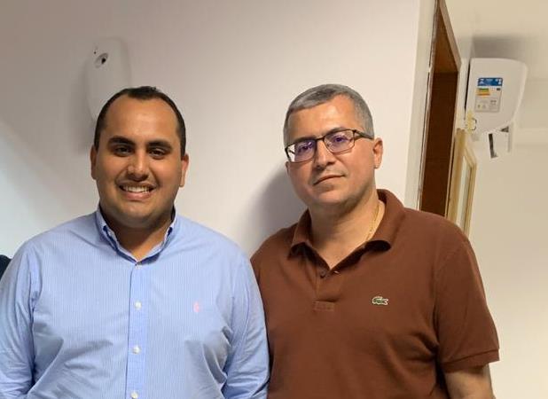 Dr.Eduardo Moura se reúne com Giorgiano e define passos de sua pré-candidatura