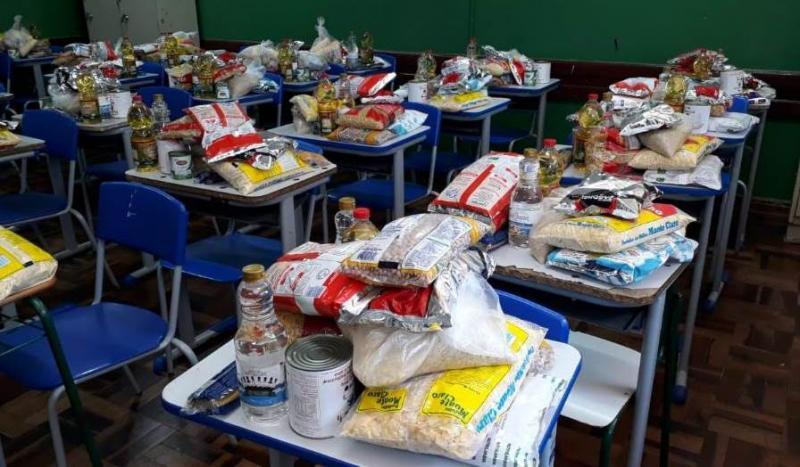 Vereadores querem que Gabriela Coelho distribua merenda escolar a famílias carentes