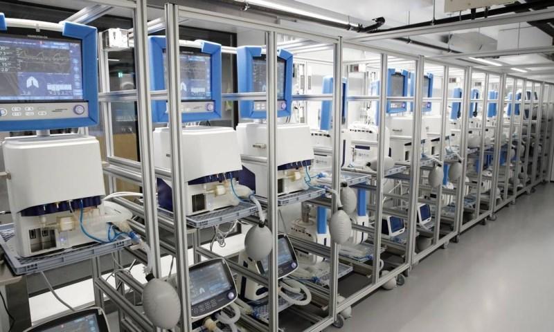 Ministério da Saúde investe R$ 1 bilhão na compra de 15 mil respiradores mecânicos