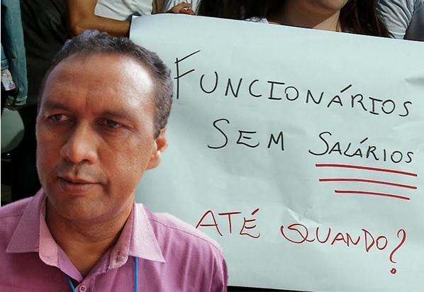 Servidores da prefeitura de Ribeira do Piauí denunciam atraso de salários