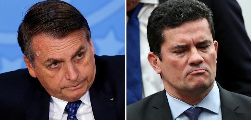 Bolsonaro retoma ataques a Moro e diz que ele mentiu sobre interferência na PF