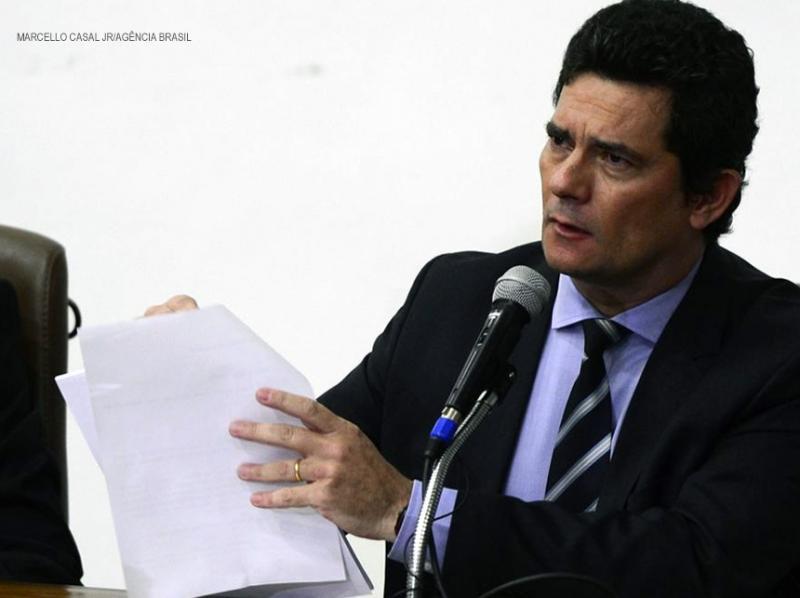 Ex-ministro Sérgio Moro depõe à Polícia Federal neste sábado