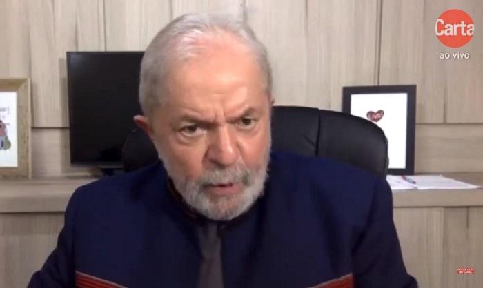 Lula: Ainda bem que o monstro do coronavírus veio para demonstrar necessidade do Estado