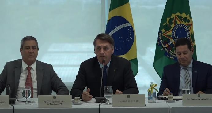 Íntegra do vídeo da reunião em que Bolsonaro foi acusado de interferência na PF