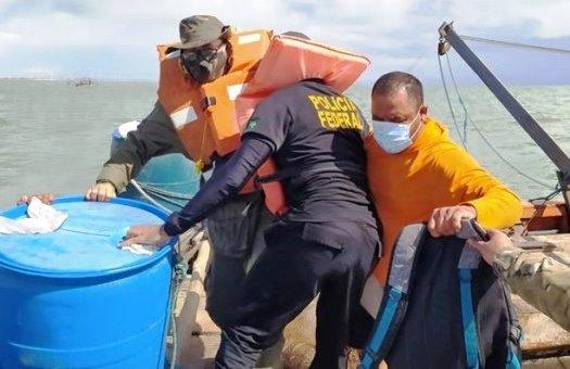 PF combate pesca predatória no litoral do Piauí