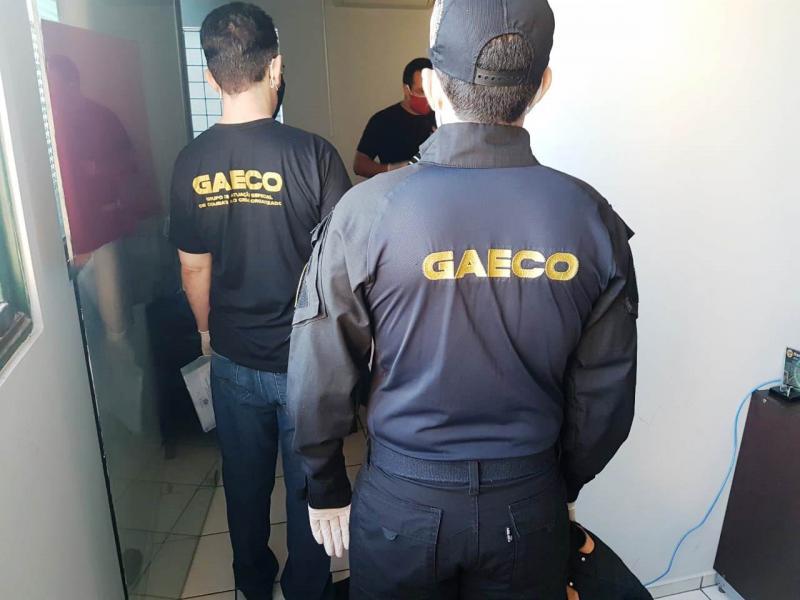 GAECO cumpre mandados em à investigação por corrupção e fraude à licitação